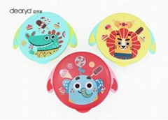 Baby Food Warmer Bowl Non Spill Suction BowL Set for Baby Stainless Steel