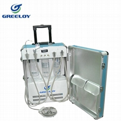 portable dental unit with 4 hole handpiece tubing