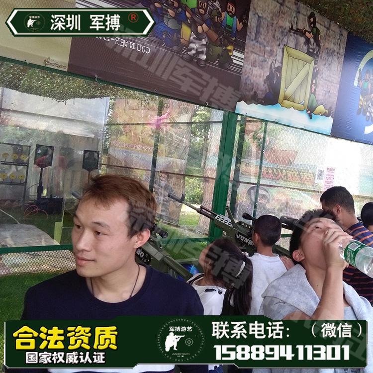 廣東遊樂場設備景區爆款氣炮 儿童遊樂設備 靶場設備 2
