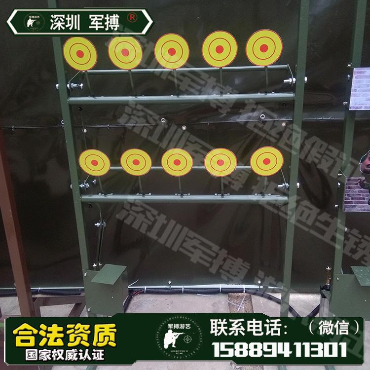廣東遊樂場設備景區爆款氣炮 儿童遊樂設備 靶場設備 3