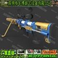 模擬實感射擊氣炮槍 橡膠球打靶
