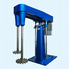 Biaxial dispersion machine TDS