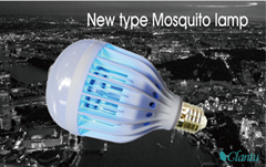 3 in 1 LED laser Mosquito Killer Bulb for indoor or outdoor