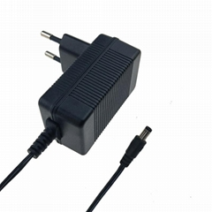 9v 1a ac dc power adapter with interchangebale plug