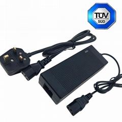 43.8V3A鉛酸電池充電器 PSE KC UL CE CUL GS認証充電器
