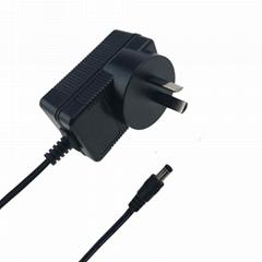 4.2V1A锂电池充电器 单节18650电池充电器