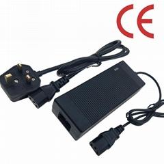 54.6V1.5A鋰電池充電器 UL PSE GS CE認証