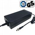 46.2V4A鋰電池充電器 UL CE PSE GS認証充電器 2