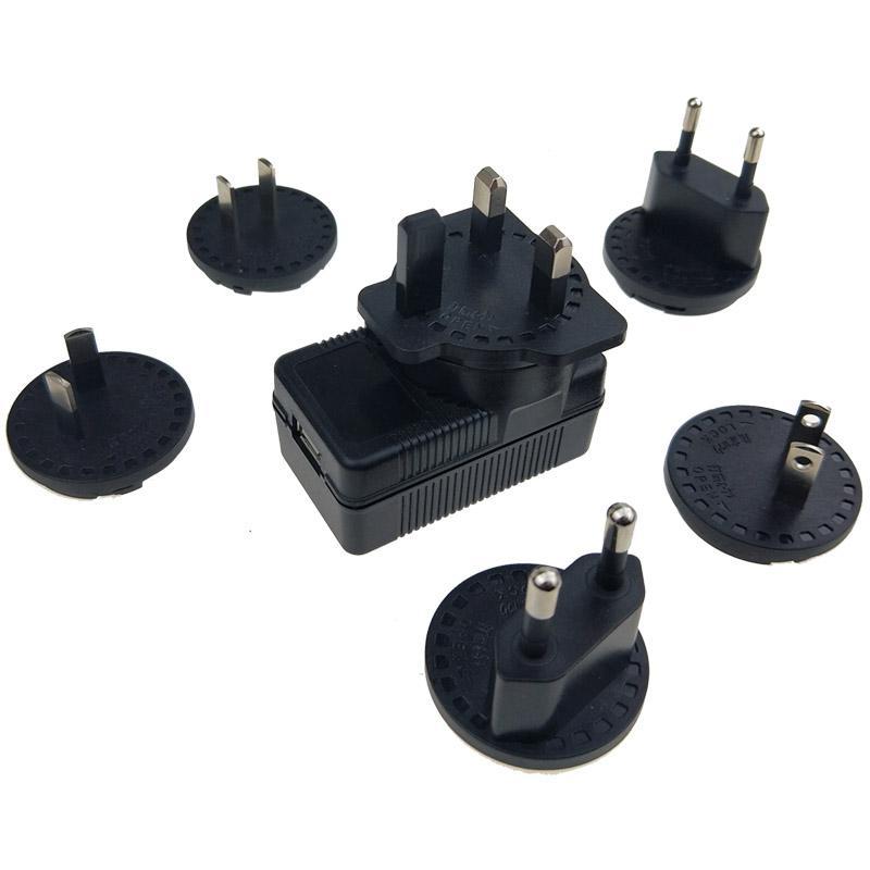 5V2A可換插腳 AC/DC電源適配器 安規認証 2