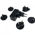 5V2A可換插腳 AC/DC電源適配器 安規認証 3