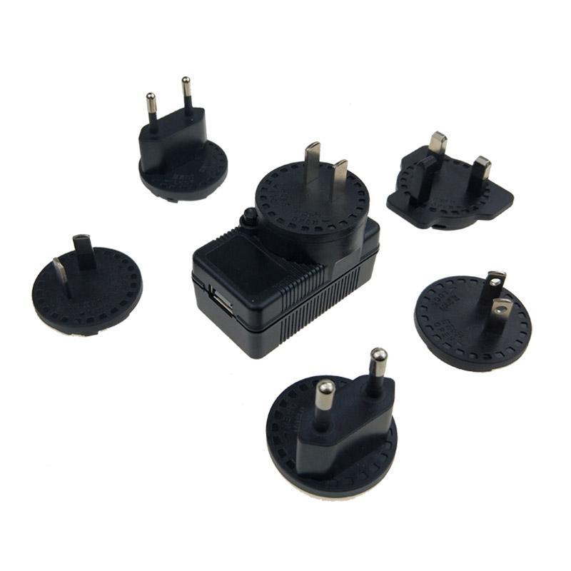 5V2A可換插腳 AC/DC電源適配器 安規認証 5