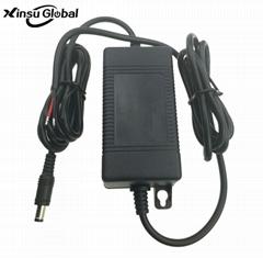 IP65等級 16.8V1A鋰電池充電器 防水電源充電器