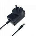 14.6V1A 铁锂电池充电器 14.6V充电器 ROHS认证充电器 2