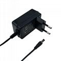 4.2V锂电池充电器 酒精测试仪充电器 5