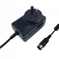 12.6V2A锂电池充电器 探测器充电器  6