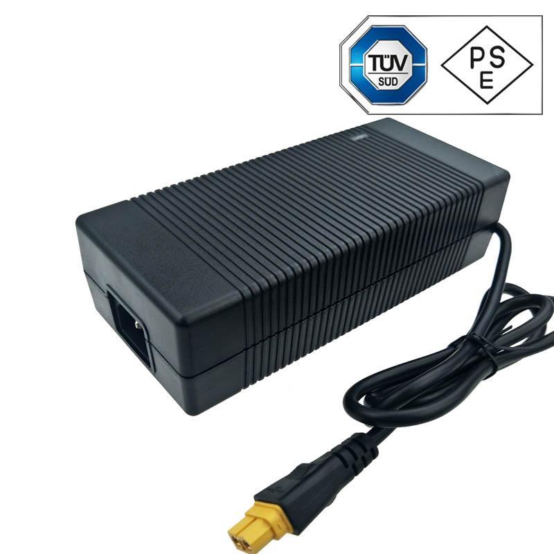 UL KC PSE認証42V5A鋰電池充電器 10串鋰電池組充電器 2