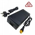 UL KC PSE認証42V5A鋰電池充電器 10串鋰電池組充電器 6