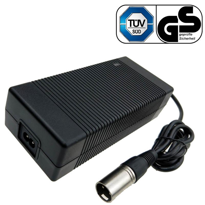 44V4A鉛酸電池充電器 德國TUV,GS認証 43.8V鉛酸電池充電器 1