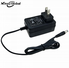 12V 2A wall plug power adapter