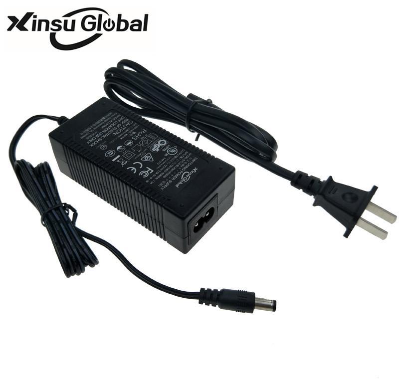 36.5V2A锂电池充电器 UL认证36.5V充电器 3