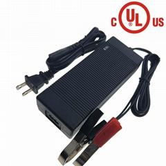UL认证58V2A铅酸电池充电器 全地形沙滩车充电器