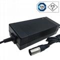 29.2V5A鉛酸電池充電器 電動車充電器 多國認証充電器 3