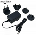 UL certified 10V 5A 50W ac adapter with