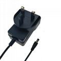 UL62368-1 認証12.6V1A鋰電池充電器 插牆式充電器 2