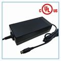 美国UL FCC认证71.4V3A锂电池充电器 17串锂电池组充电器