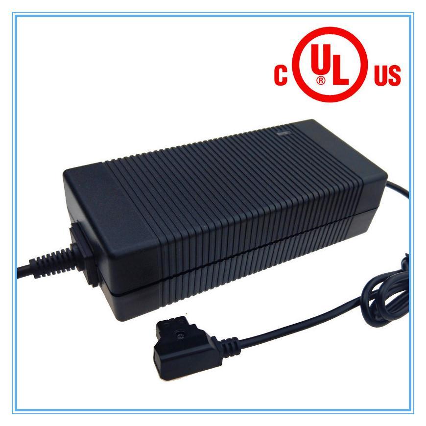 美國UL FCC認証71.4V3A鋰電池充電器 17串鋰電池組充電器 3