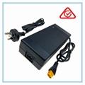 UL60950认证73V2A磷酸铁锂电池充电器,20串铁锂电池组充电器 4