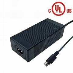 UL62368认证14.4 v 4a磷酸铁锂电池充电器