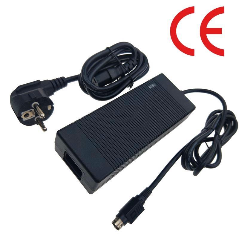 電源廠家批發22V5A磷酸鐵鋰電池充電器 安規認証充電器 1