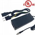 電源廠家批發22V5A磷酸鐵鋰電池充電器 安規認証充電器 3