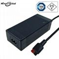 電動滑板車充電器 42V1.5A充電器 3pin航空連接器 3