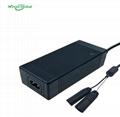 CE ROHS UL FCC PSE KC認証鋰電池充電器 29.4V2A 4