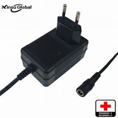 16.8V1.5A锂电池充电器 IEC60601医疗认证充电器