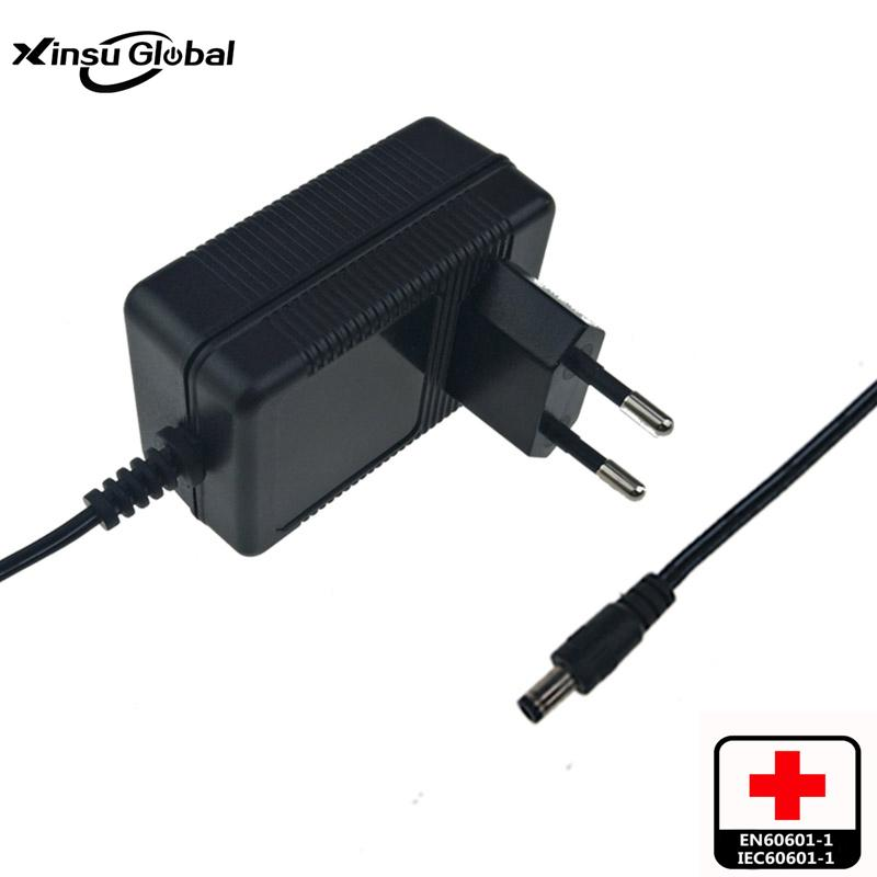 medical respiator battery charger 16.8v1.5a 2