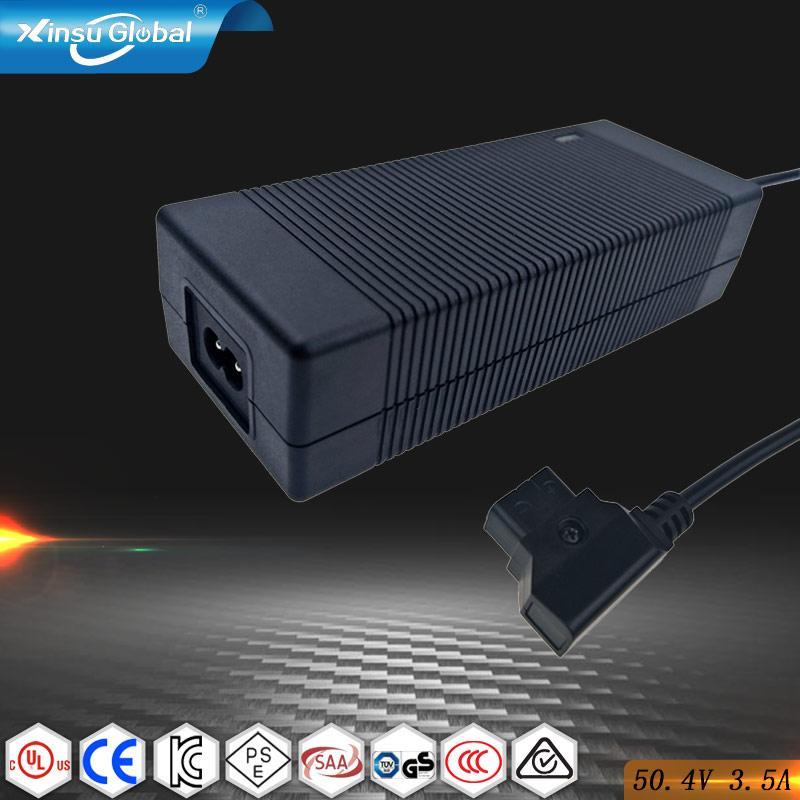 50.4V 3.5A 充電器 50.4V充電器12串鋰電池組充電器 4