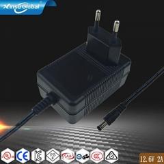 12.6V2A鋰電池充電器 18650聚合物充電器