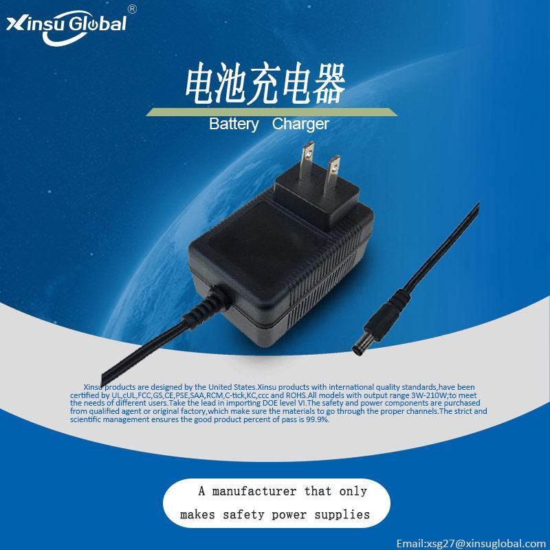 12.6V2A锂电池充电器 18650聚合物充电器 3