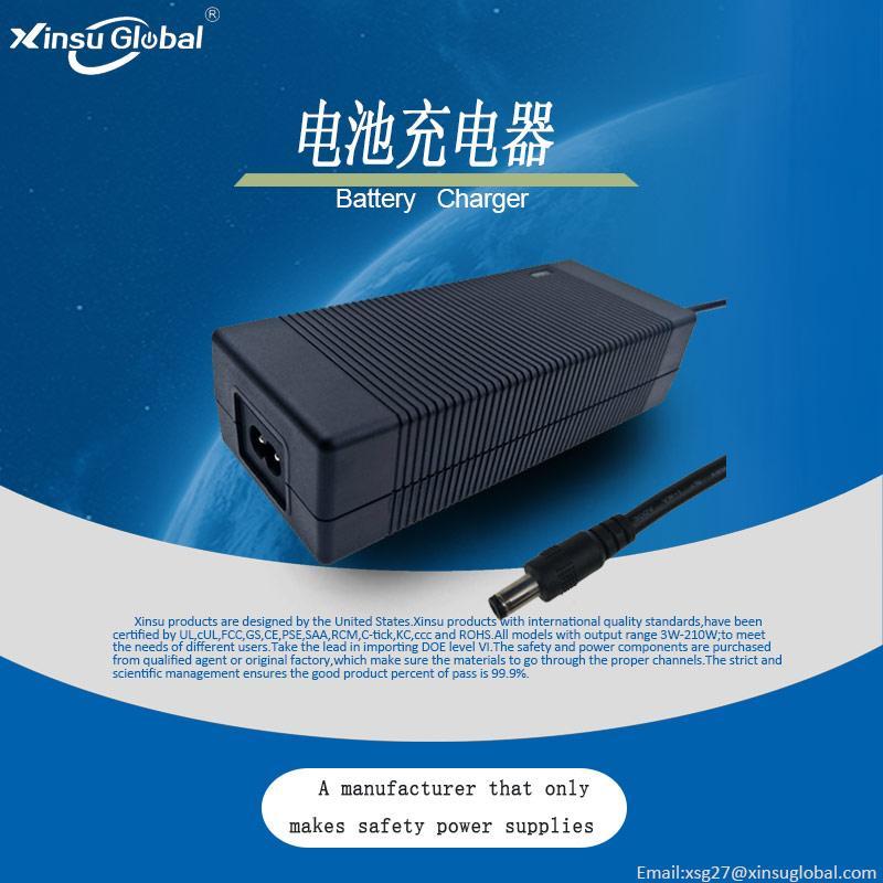 29.4V5A锂电池充电器 锂电背负式电动喷雾机25.9V电池充电器 4