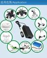 電源廠家批發22V5A磷酸鐵鋰電池充電器 安規認証充電器 12