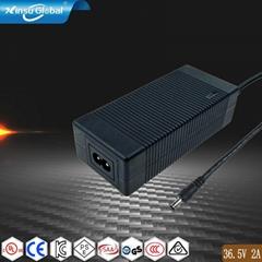 36.5V2A锂电池充电器 UL认证36.5V充电器
