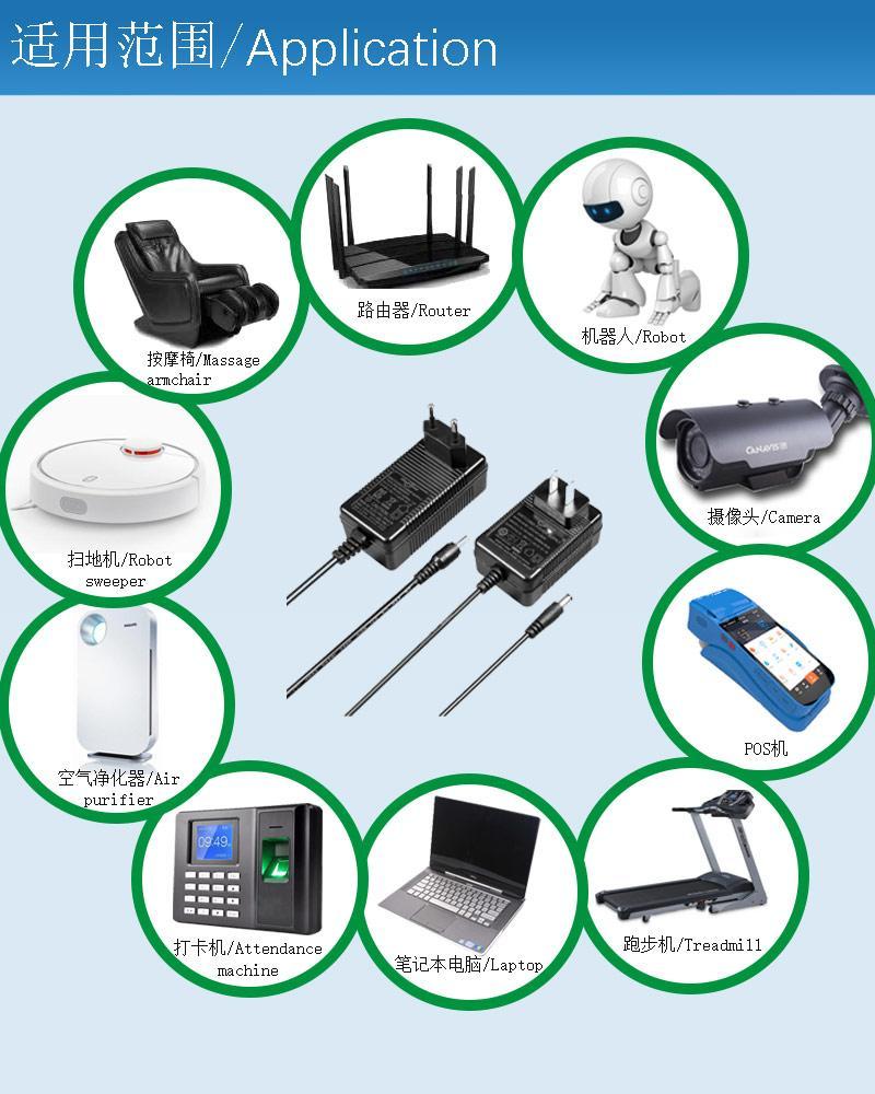 GEMS能效认证5V2A USB接口电源适配器 10