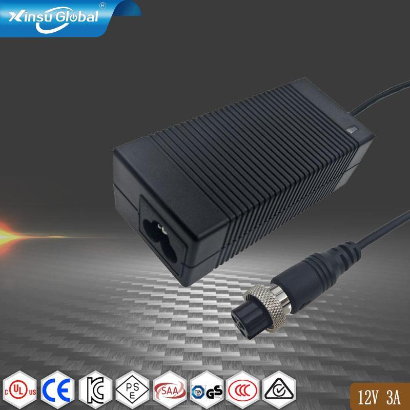 12V3A桌面式電源適配器 36W電源適配器  1