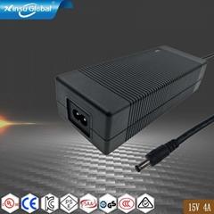 15V4A开关电源适配器 15V4A AC适配器 15V4A 电源