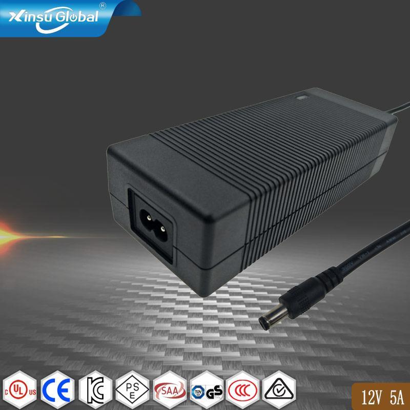 12V5A电源适配器 AC/DC电源适配器  1