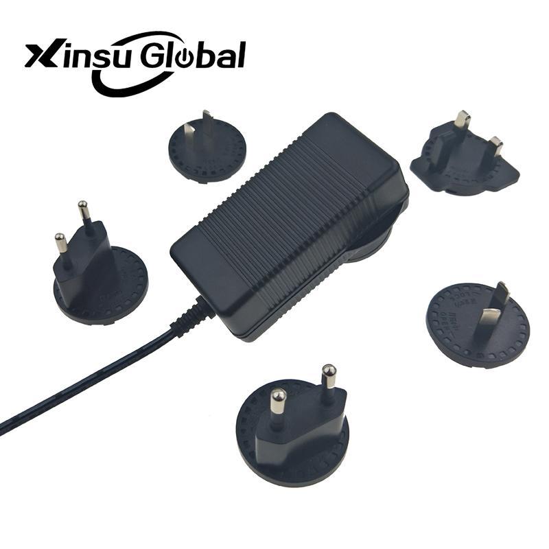 UL PSE GS认证48V1.5A 可换插头/转换脚电源适配器 3