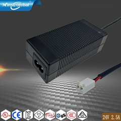 IEC62368-1 ul pse gs 24v 2.5a ac power